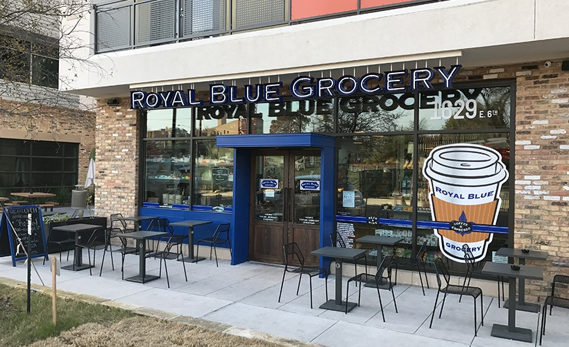 Royal Blue Grocery